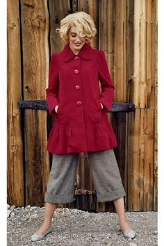 Grable Swing Coat- A Favorite For Sure