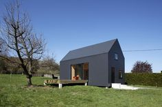 G House. Seine in Normandy, by Lode Architecture