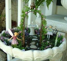 fairy garden fairy garden
