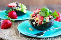 Strawberry-Avocado Quinoa Salad