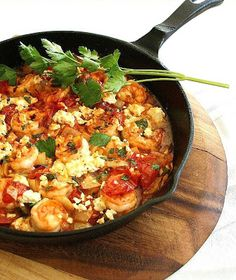 Seared Chili Garlic Shrimp with Tomato by Inspired Edibles