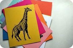 dozen anim, animals, card templates, sew card, kid sewing, card stock, card tutorials, anim sew