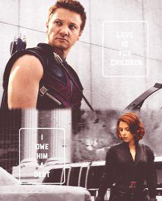 Is this love, Agent Romanoff?
