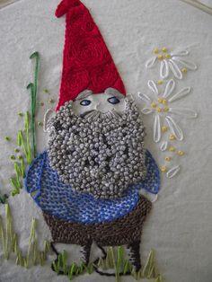 July Stitch-a-long (the gnome) by snifferooski, via Flickr