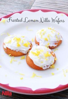 Frosted Lemon Nilla Wafers are a refreshing southern style dessert to enjoy in the summer!