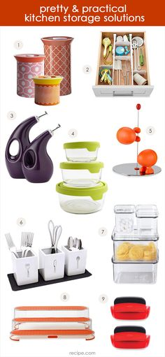Make 2014 the year of the happy kitchen with these nine smart (and fun!) kitchen organization solutions.