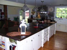 The kitchen at Blue Stone Farm.