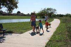 Looking for a great place to bike, walk or run? The Furneaux Creek Blue Trail - Carrollton, Texas