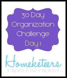 Organization Challenge - Day 1