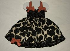 BabyToddler Cowgirl Shirred Halter Cowhide Print by CottontailKids, $50.00
