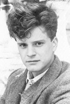 "Colin Firth in ""Another Country"", 1984."
