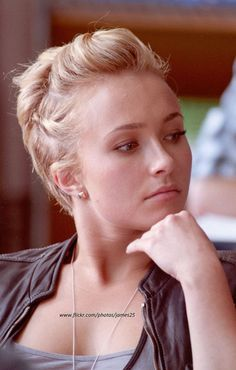 The Amazing Pixie Cut by Hayden Panettiere This pixie cut is really lovely and fantastic with those cool brushed-up hair and awesome sides a...