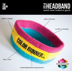 Finisher Headband #2014 #TheColorRun