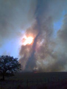Texas Fire Storm.