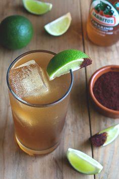 Ancho y Tamarindo Cocktail // HonestlyYUM