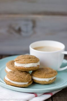 Ginger Lemon Cream Sandwich Cookies from @Jessica (Portuguese Girl Cooks)
