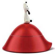 Fab.com   Lulà Dog Bowl Red
