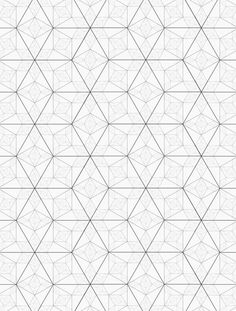I could see this as a tile pattern.