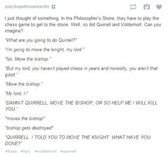 LOL I don't know if it's good or bad that I read this in my head with the voices from the AVPM cast.