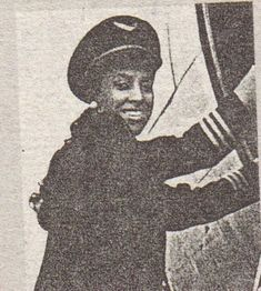 Jill Elaine Brown received her wings in 1978 as the first African American female pilot to fly for a major U.S. commercial airline. Ms. Brown, then 28, was one of six women to graduate in a class of 38 pilots from then Texas International Airline's training program.