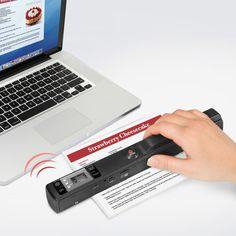 The Wireless Image Transfer Hand Scanner - Hammacher Schlemmer