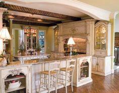 Beautiful Habersham kitchen  LOVE the details!!