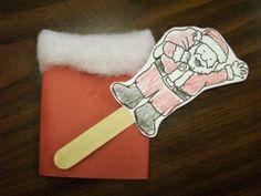 Pop up Santa
