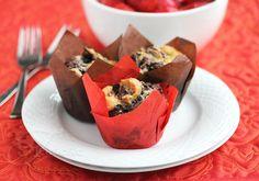Chocolate Marbled Cupcakes (gluten-free) #cake #dessert #glutenfree