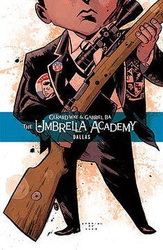 gerard way, umbrellas, gabriel ba, comic books, dallas, umbrella academi, graphic novel, comics, book series