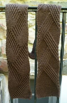 Free Pattern: Rippenschal - My Favourite Ribbed Scarf by Margarete Dolff