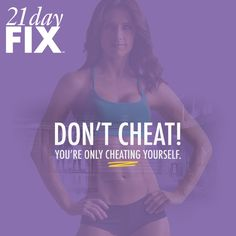 21 Day Fix Workout motivation of the day!