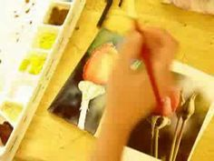 How to Paint a rose in Watercolor Painting Demonstration By Lori Andrews