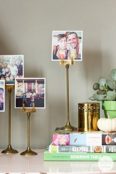 A quick and easy idea for decorating with your Instagrams! #31daysofhome