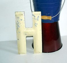 """H"" for the alphabet wall"