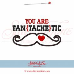Mustache Valentine's Day Applique Shirt or by LouAnnsBittyBootique, $18.00