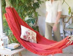 40 interest, idea, crafti, rope, hammocks, outdoor, diy hammock, garden, thing