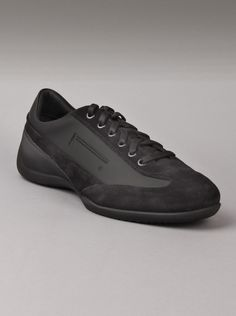 Pirelli® Uomo Pzero REX-209 Mens Sneakers in Nero.  These mens fashion sneakers from Pirelli are made from black suede with rubber insoles for a sure grip. Italian shoes feature the Pirelli logo, so you know you're buying from one of the best mens sneakers on the market.