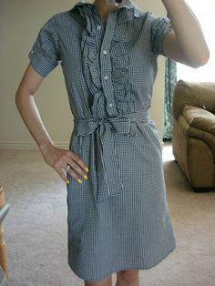 dress from dress shirt