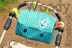 Le-Kimi: Freebook Woody- Kinderwagentasche