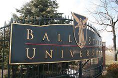 Ball State University, Muncie, Indiana.