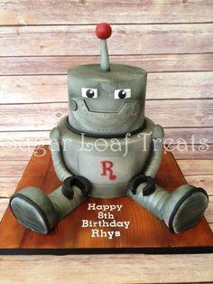 Rhys' Robot Cake