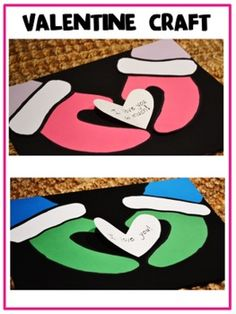 Sweet and simple Valentine craft!