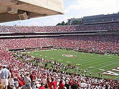 Sanford Stadium, Home of the Bulldogs, Athens, Georgia