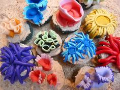 Under the Sea Cupcakes- love these!