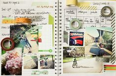 Captured April 2012 post at 2peas by Lisa Truesdell. Time to use some of that precious washi tape! :)