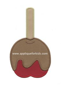 Free Embroidery Design: Candy Apple - I Sew Free
