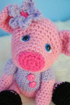 Pig Crochet PDF Pattern
