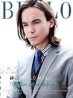 Tyler Blackburn ...You know I love a sexy hipster in a suit ;)