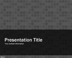 Gray Pattern Power Point template is a free background style for PPT presentations with a texture background for PowerPoint presentations