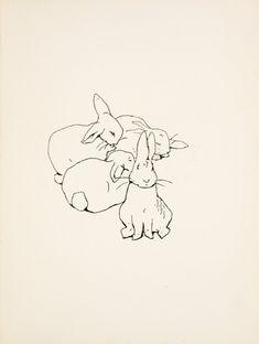 Peter Rabbit first edition illustration.